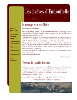 Bulletin municipal Octobre 2017