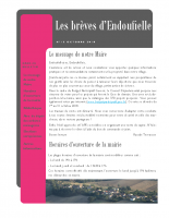 Bulletin municipal Octobre 2018