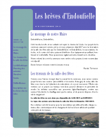 Bulletin municipal Septembre 2016