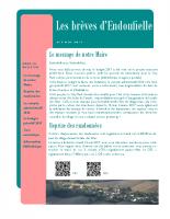 Bulletin municipal Mai 2017